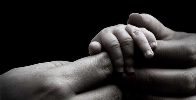 newborn touch