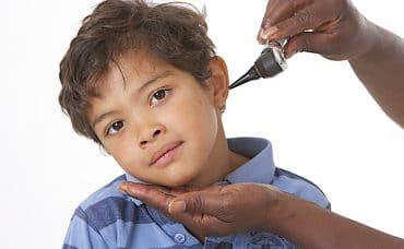 Boy with mumps