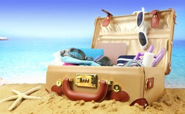 holiday packing case