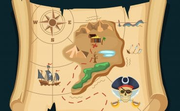 fun to do treasure map