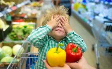 toddler shopping tantrum