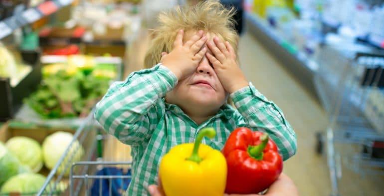 toddler shopping tantrum