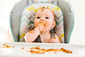Weaning tips for 7 month old babies